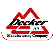 Decker Manufacturing Company logo
